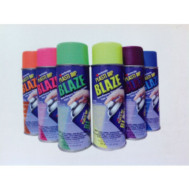 SPRAY CAMBIA COLORE PLASTIDIP BLAZE PELLICOLA LUMINOSA WRAPPING REMOVIBILE