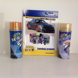 SPRAY CAMBIA COLORE PLAST DIP METALIZER PELLICOLA WRAPPING REMOVIBILE