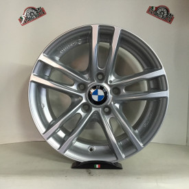 CERCHI IN LEGA BMW OMOLOGATI DA 17 POLLICI SILVER per bmw x3