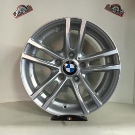 CERCHI IN LEGA BMW OMOLOGATI DA 17 POLLICI SILVER per bmw x1