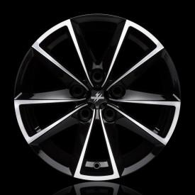 CERCHI IN LEGA FONDMETAL  7600 Black machined per Volkswagen Passat