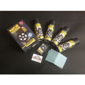 kit vernice spray plastidip per cerchi in lega