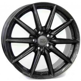 CERCHI IN LEGA WSP W251 CANNES DIAMOND BLACK PER ALFA ROMEO SPIDER