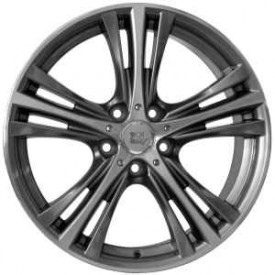 CERCHI IN LEGA WSP W682 ILIO ANTHRACITE POLISHED DA 19 POLLICI ET 37